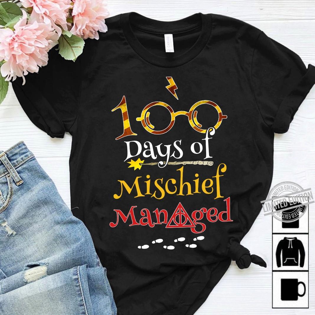 100 days of mischief managed shirt