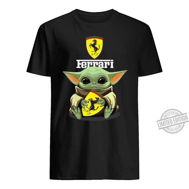 Baby Yoda Ferrari Shirt