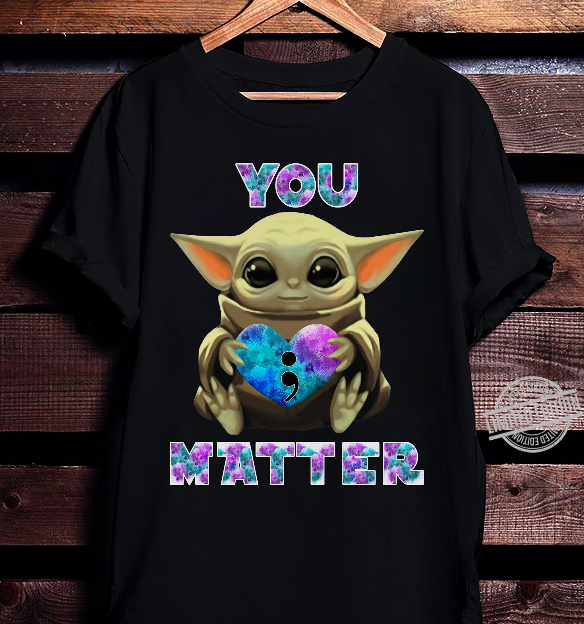Baby Yoda Hug Matter Shirt