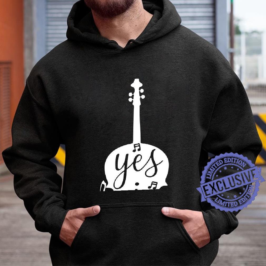 Guitar Yes i speak cello shirt hoodie