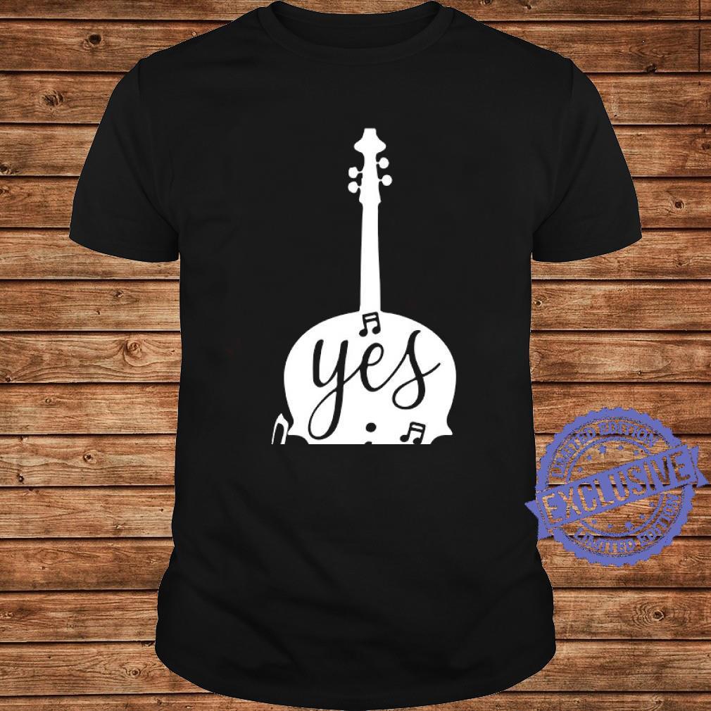 Guitar Yes i speak cello shirt long sleeved