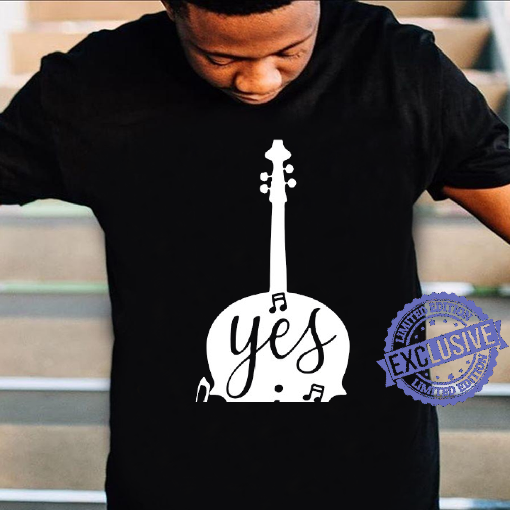 Guitar Yes i speak cello shirt unisex