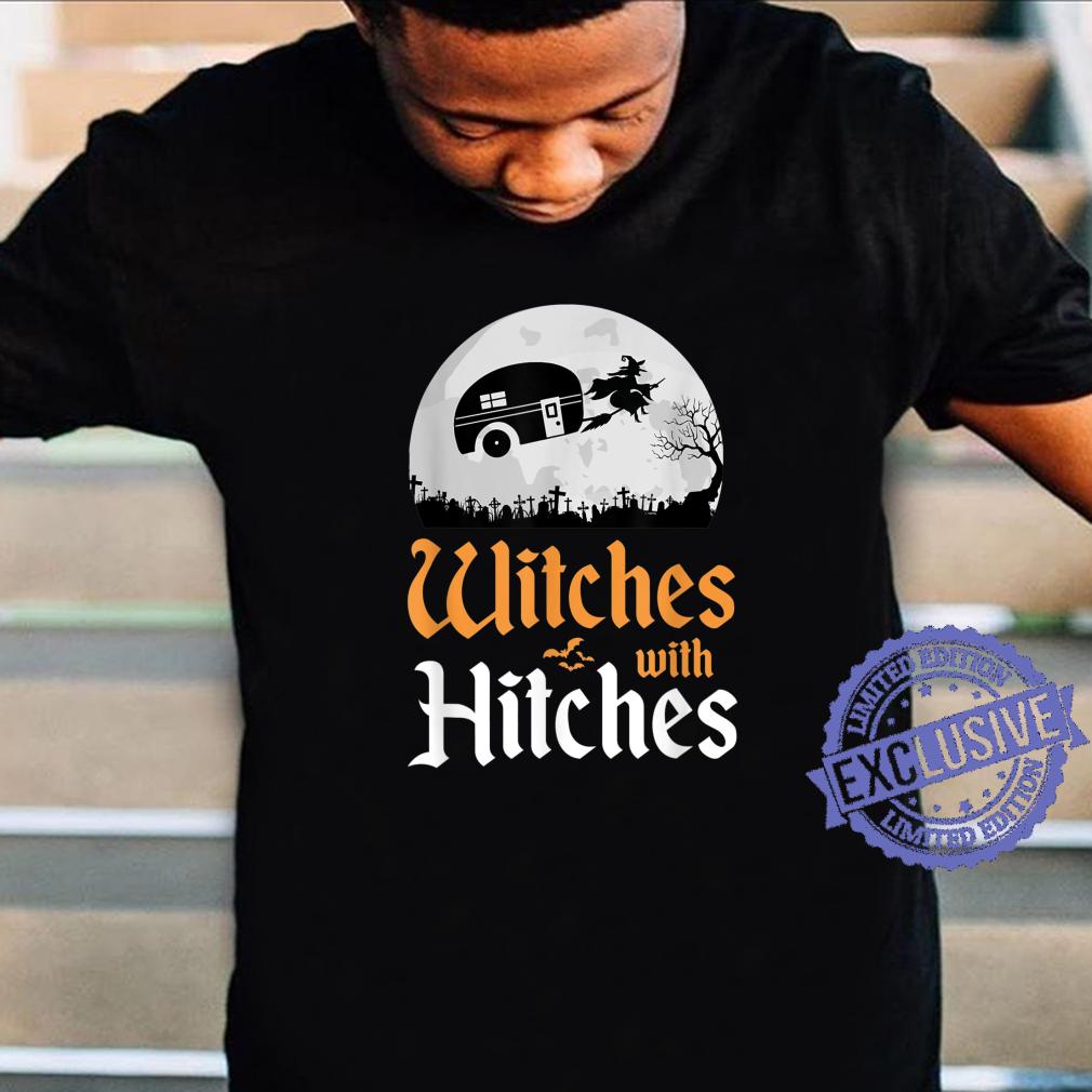 Hexen Mit Haken Lustiges CampingHalloweenKostüm Wohnmobil Shirt