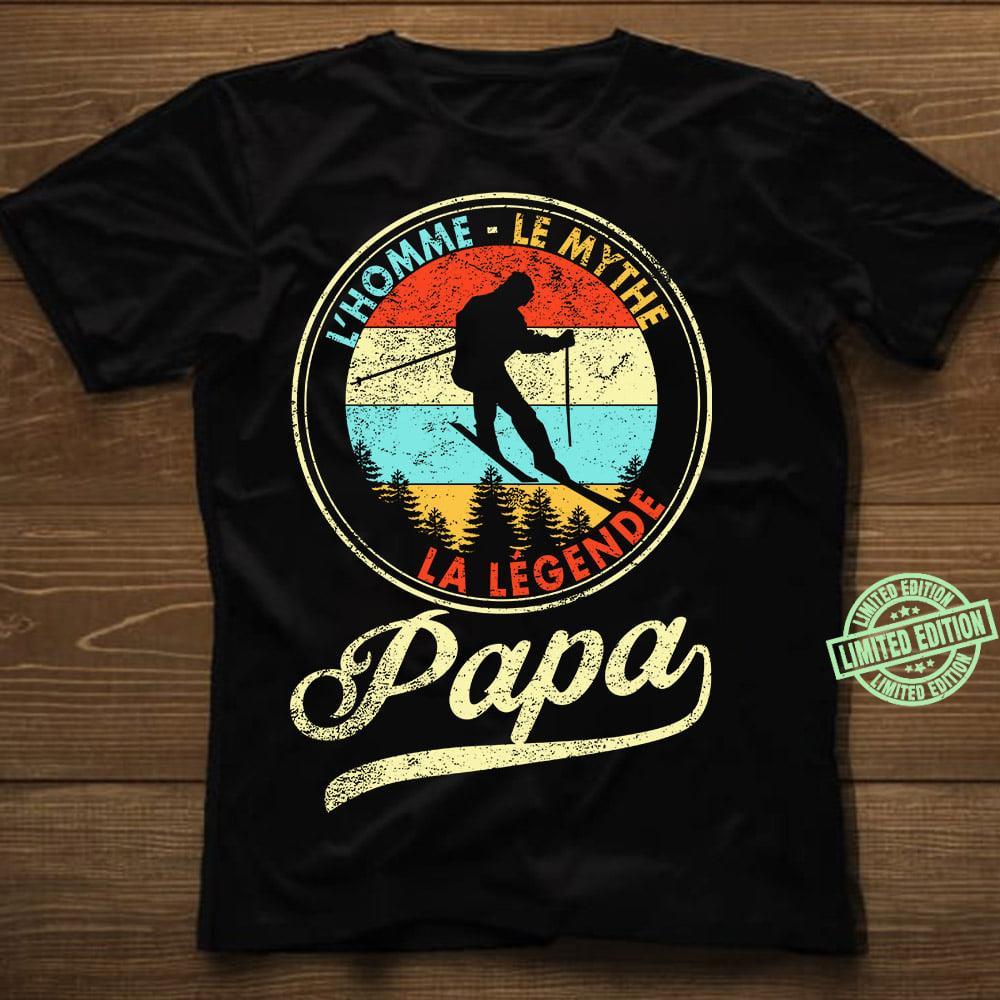 L'homme Le Mythe La Legende Papa shirt