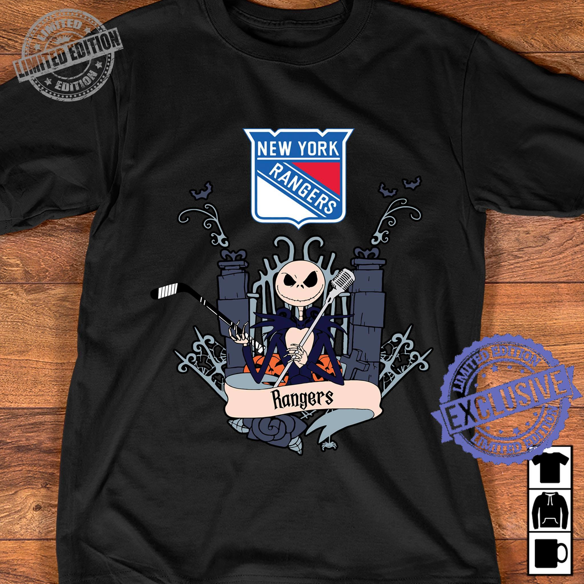 New york rangers shirt