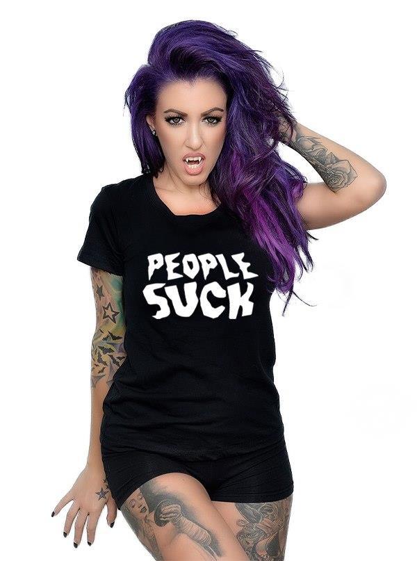 People Suck shirt