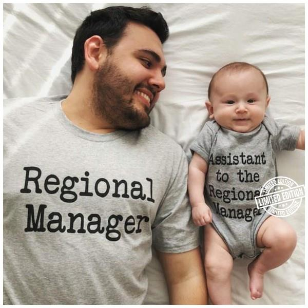Regional manager shirt assistant to the regional manager shirt