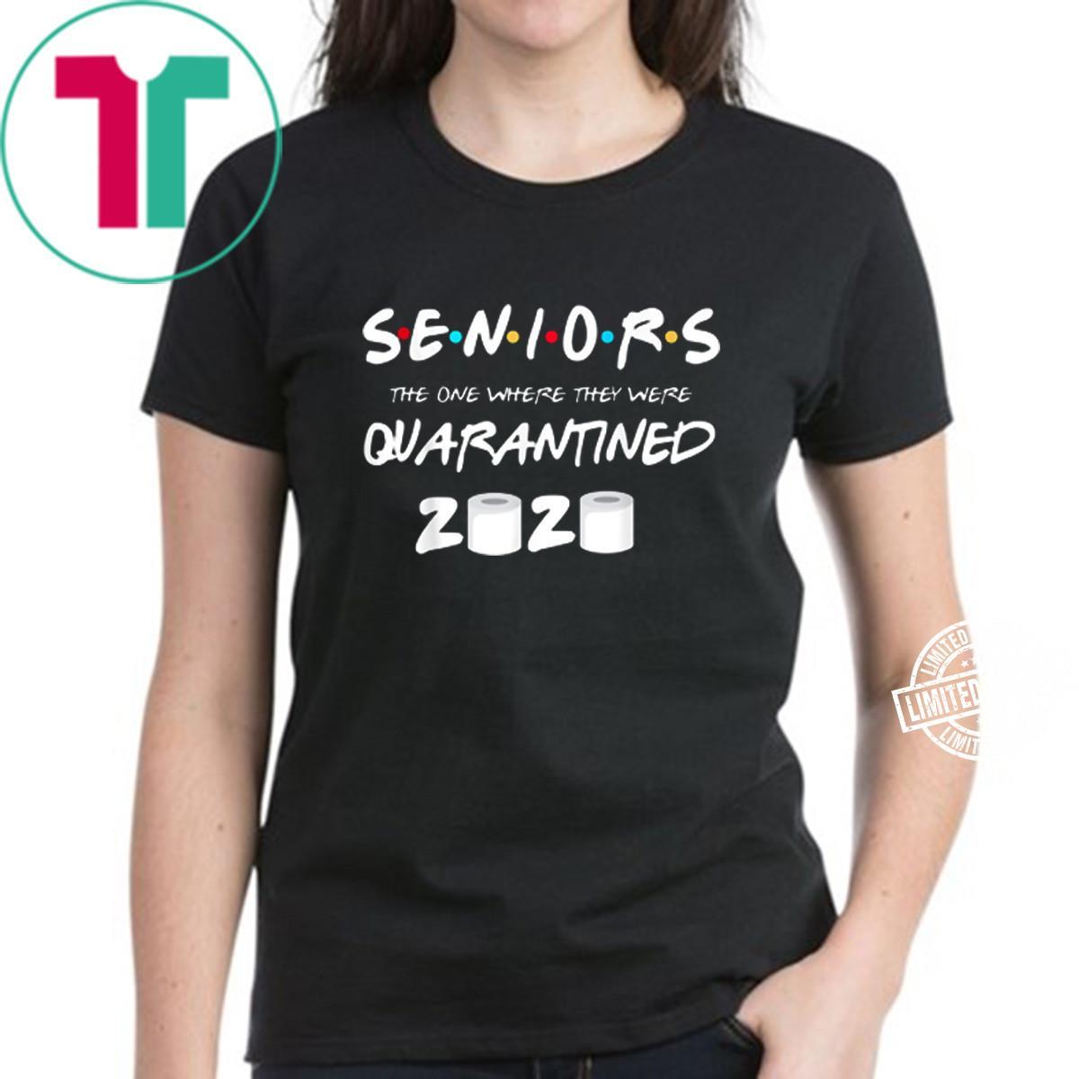 SENIOR 2020 TOILET PAPER SHIRT CLASS 2020 QUARANTINE Shirt